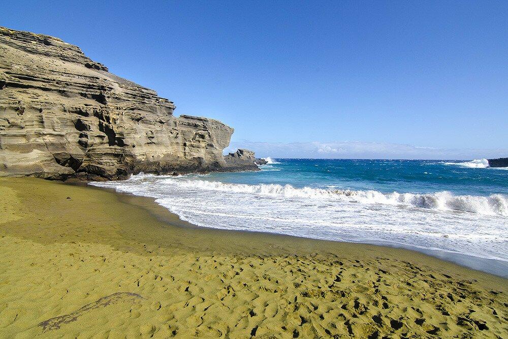 Три самых уникальных пляжа Гавайев