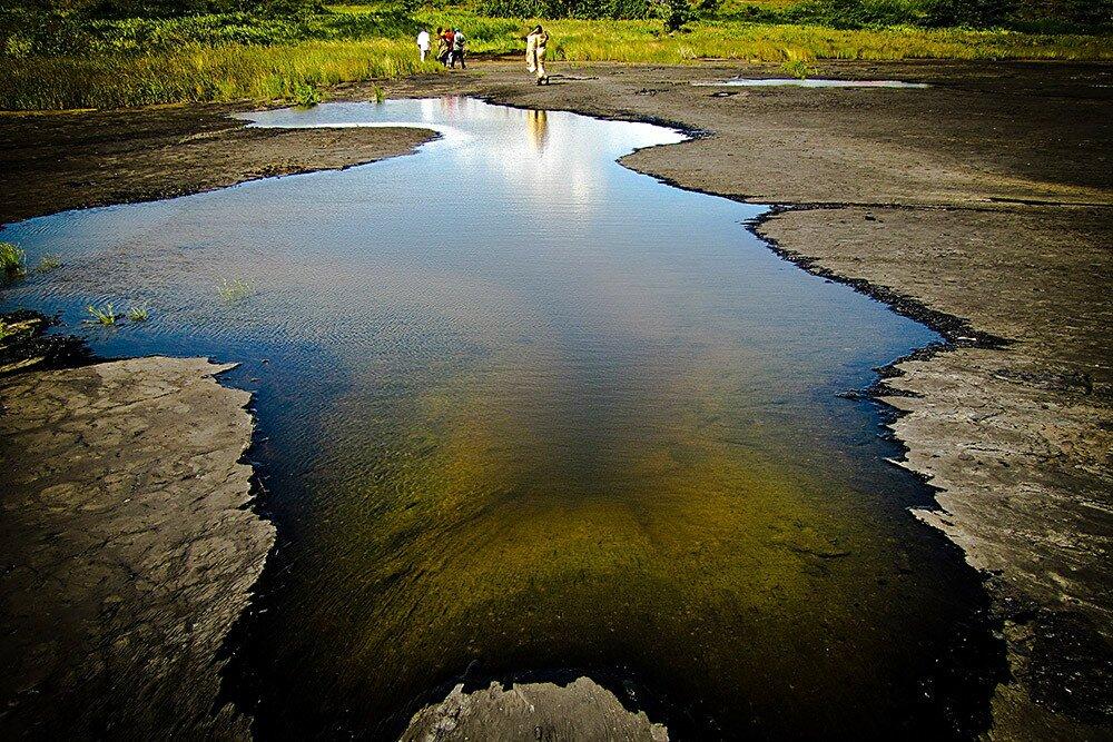 Асфальтовое озеро Пич-Лейк