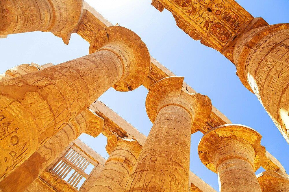 Древнеегипетский храм: часть первая