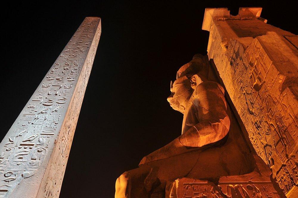Древнеегипетский храм: часть третья