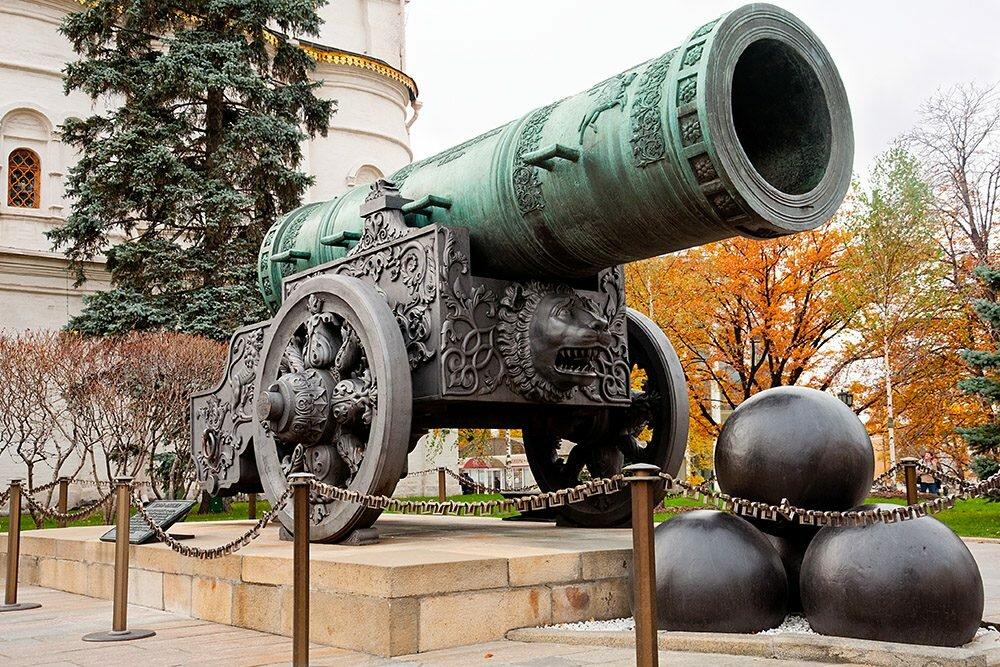 Московская Царь-пушка Андрея Чохова