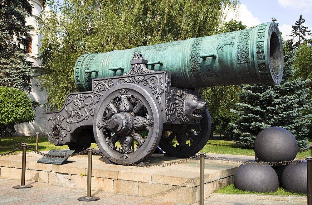 Московская Царь-пушка работы Андрея Чохова